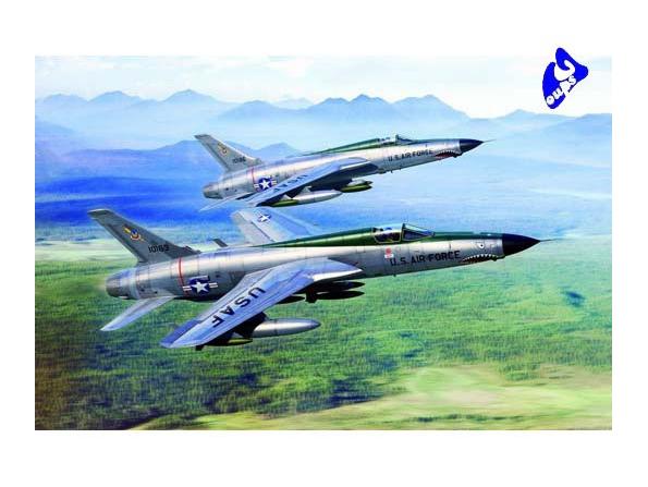 Trumpeter maquette avion 01617 REPUBLIC F-105D 1/72