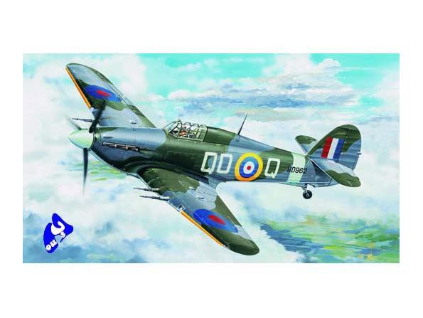 TRUMPETER maquette avion 02415 HAWKER HURRICANE Mk. IIC 1/24