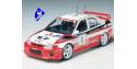 tamiya maquette voiture 24203 mitsubishi Lancer evolution V WRC 1/24