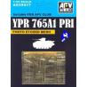 AFV maquette militaire ag35017 GRILLES DE PROTECTION YPR 765A1 1/3
