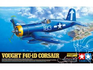Tamiya maquette avion 60327 Vought F4U-1D Corsair 1/32