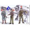 CMK figurine 72042 PILOTE ET MECANICIENS JAPONAIS 1/72
