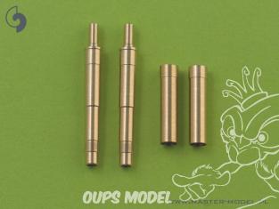 Master Model AM-32-009 Canons & Blast Tubes Machine Gun Allemande Mk 108 (30mm) x2 1/32