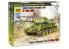 Zvezda maquette militaire 6160 Char Medium Sovietiqur T34/85 snap kit 1/100