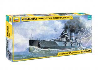 Zvezda maquette bateau 9060 Cuirassé Poltava (1909) 1/350