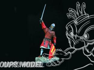 Verlinden maquette figurine historique 1070 Chevalier Espagnol 1325 120mm