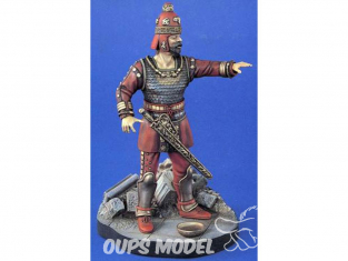 Verlinden Figurine militaire 1030bi Roi Scythian 4em siecle avant JC boite incomplete 120mm