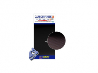 HASEGAWA 71810 PLAQUE FINITION CARBONE LARGE
