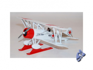 Model Power miniature Avion 6403 TRAVEL AIR 400 RESCUE 1/48