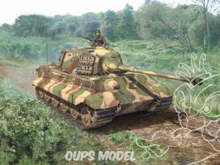 Italeri maquette militaire 15765 Sd.Kfz.182 Tigre II 1/56 28mm