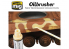MIG Oilbrusher 3530 Vert herbe Peinture a l'huile avec applicateur