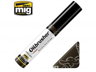 MIG Oilbrusher 3532 Saleté de baies Vaisseau spatial Mecha Peinture a l'huile avec applicateur