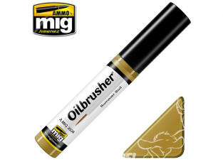 MIG Oilbrusher 3534 Sol d'été Peinture a l'huile avec applicateur