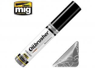 MIG Oilbrusher 3537 Aluminium Peinture a l'huile avec applicateur