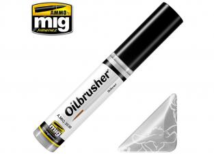MIG Oilbrusher 3538 Argent Peinture a l'huile avec applicateur