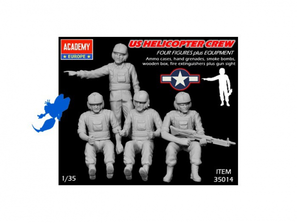 Academy maquettes avion 35014 US PILOTES HELICOS 1/35