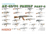 Dragon maquette militaire 3805 AK-47/74 Familly N°2 1/35