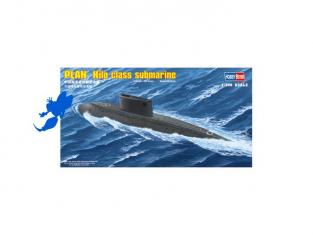 HOBBY BOSS maquette bateau 83501 PLAN KILO CLASS SUBMARIN 1/350
