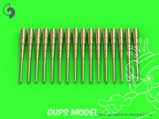 Master Model SM-700-055 Canons Allemands 8,8cm SK L/45, Flak L/45 x16 1/700