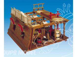 PANART Mantua Kit bois 740 POSTE DE COMBAT 1/23