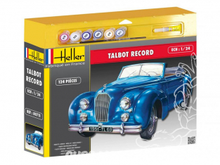 Heller maquette voiture 50711 Talbot Record ensemble complet 1/24