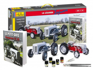Heller maquette tracteur 52323 Coffret La Légende Ferguson Ensemble complet Edition Limitée 1/24