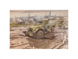 Roden maquette militaire 809 M-42 US3/4 ton 4x4 Command truck 1/35