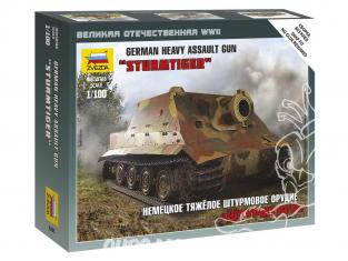 Zvezda maquette militaire 6205 Sturmtiger snap kit 1/100