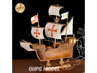 Amati bateau bois 600/03 Mon premier bateau bois Santa Maria 1/100