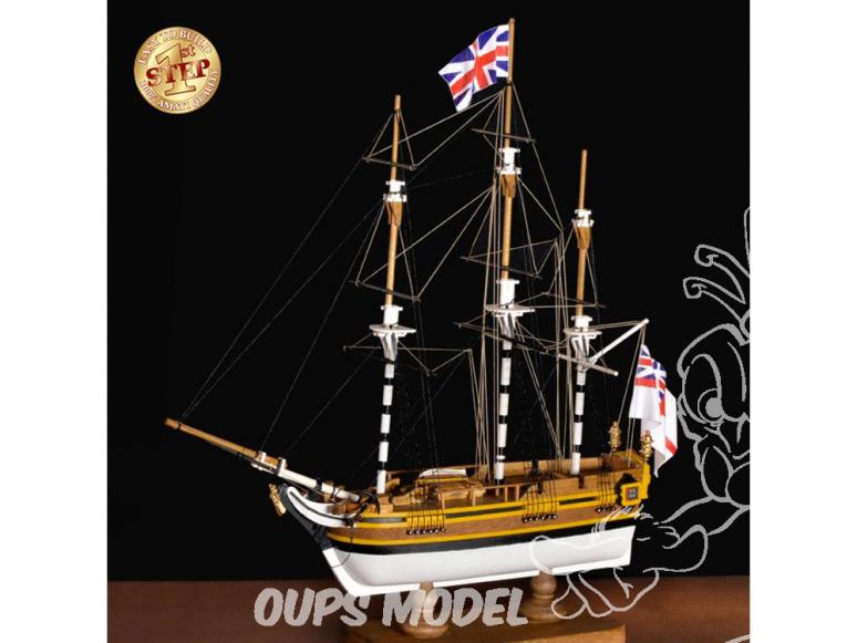 Amati bateau bois 600/04 Mon premier bateau bois H.M.S. Bounty 1/135