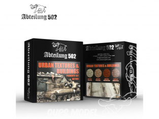 Abteilung 502 set de pigments abt401 Set textures urbaines & Buildings