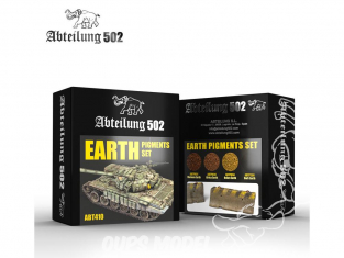 Abteilung 502 set de pigments abt410 Set Terre
