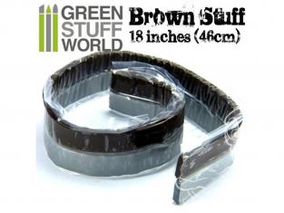 Green Stuff 367245 Résine Brune en bande 46 cm 18 pouce