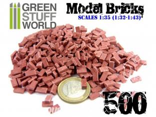 Green Stuff 367054 Briques Rouge x500