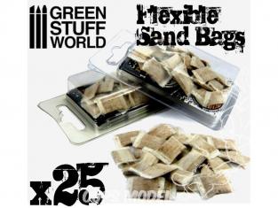Green Stuff 367146 Sacs de Sable Flexible x25