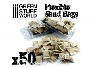 Green Stuff 367153 Sacs de Sable Flexible x50
