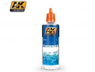 Ak interactive peinture acrylique AK712 Diluant acrylique 60ml