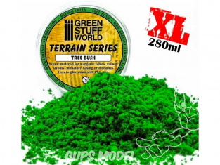Green Stuff 365746 Flocage mousse Vert Moyen 280ml XL