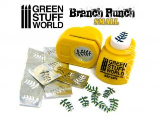 Green Stuff 363711 Perforatrice de Branches Modélisme JAUNE