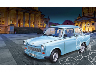 Revell maquette voiture 07777 Trabant 601S 60 Years of Trabant 1/24
