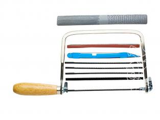 Excel outillage maquette 56012 Ensemble de scies et outils pour constructeurs de modèles bois