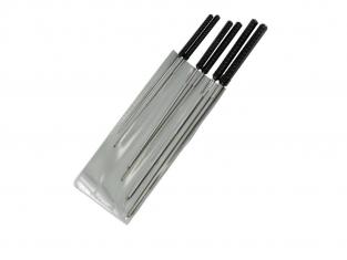 ModelCraft PBR2196 Set de 6 broches de coupe de précision (1.2 - 3.0mm)