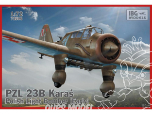 IBG maquette avion 72506 PZL 23A Karas early 1/72