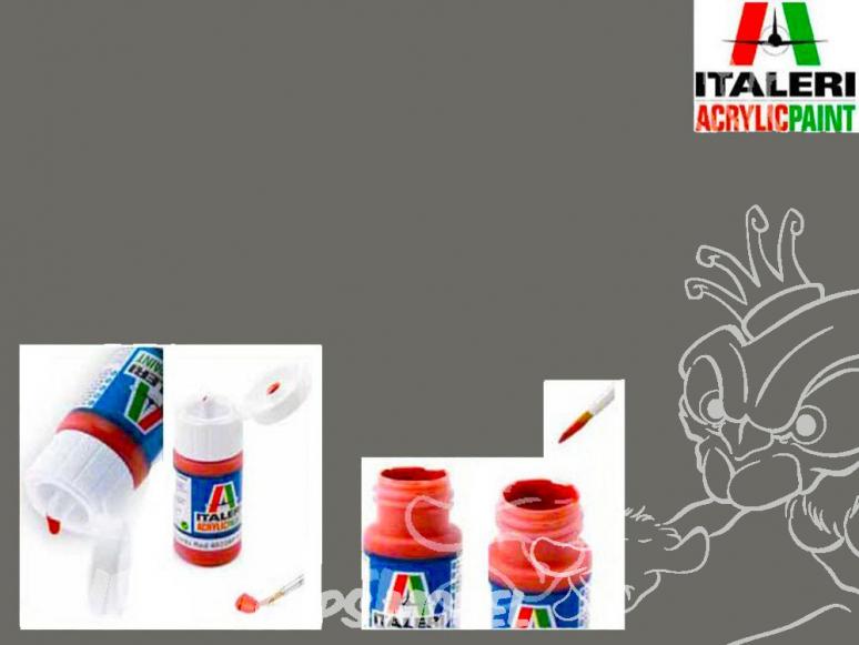 peinture maquette Italeri 4853 Gris vert mat RLM66