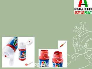 peinture maquette Italeri 4855 Vert Interieur Italien mat