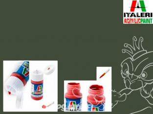 peinture maquette Italeri 4857 Vert mat 383