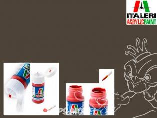 peinture maquette Italeri 4858 Marron mat 383
