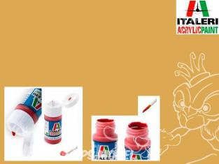 peinture maquette Italeri 4860 Jaune sable mat RAL1002