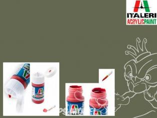 peinture maquette Italeri 4862 Vert Mat