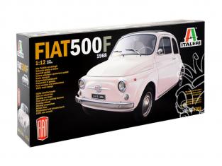 Italeri maquette voiture 4703 FIAT 500F 1/12